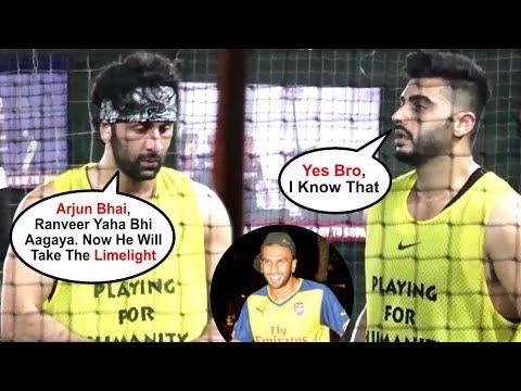 Ranbir Kapoor,Arjun Kapoor & Karan Deol played Football |