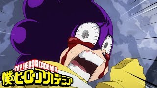 Final Exam: Mineta and Sero vs Midnight | My Hero Academia