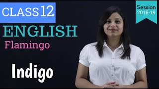 indigo class 12 in hindi | WITH NOTES