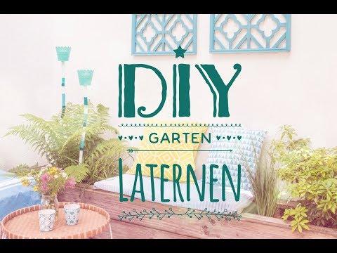 DIY Garten Laternen