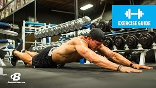 How To Ab Walk-Out | Abs Exercise Guide