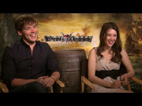 Interview with the young stars of 'Pirates: On Stranger Tides'