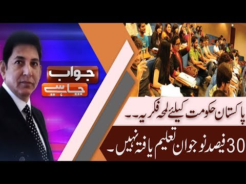 Jawab Chahye | Demographic comparison of Pakistan and Turkey | 13 Sep 2018 | 92NewsHD