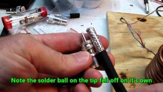 Download Video Soldering PL-259 and N connectors MP3 3GP MP4