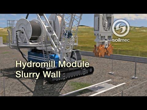 Enlace vídeo Soilmec SH 50 Hydromill Module