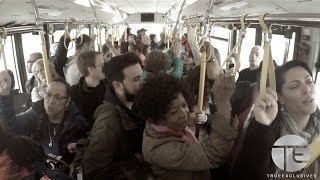 Strangers Join In Worship on Airport Shuttle