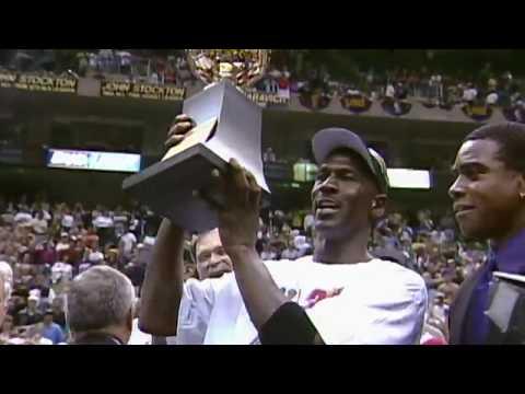 Michael Jordan, Final NBA 1998, The last Shot!