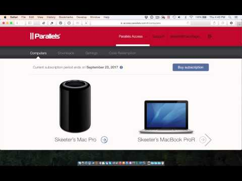 Parallels Access 2.5 Controls Your Remote Computer From Any Browser