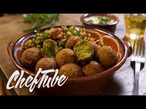 Como Cocinar Falafel - Receta en la descripción