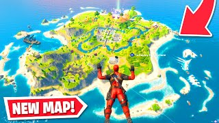 This is the *NEW* Fortnite MAP! (Party Royale Update)