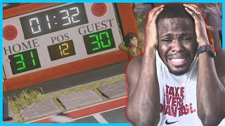 LEBRON JAMES MISSES DUNKS IN THE CLUTCH! - NBA Playgrounds Online Match
