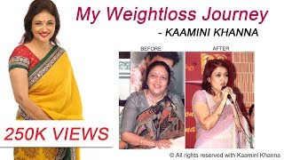 Weight-loss journey | Kaamini Khanna