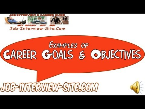 mp4 It Career Goals And Objectives Examples, download It Career Goals And Objectives Examples video klip It Career Goals And Objectives Examples