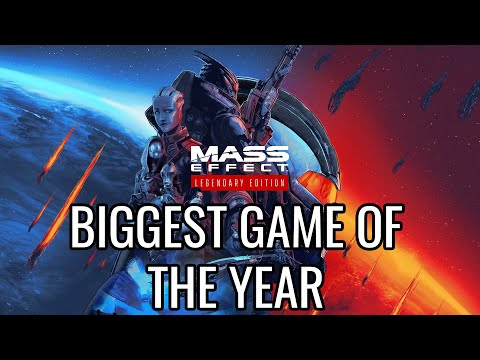Why Mass Effect: Legendary Edition Is One of the Biggest Games of the Year