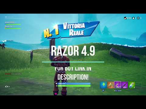 FORTNITE RAZOR 5 0 BEST AIMBOT AIM ASSIST ABUSE CRONUSMAX TITAN TWO
