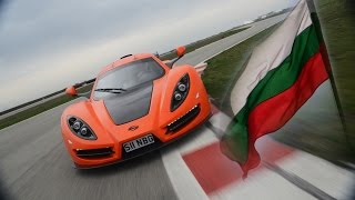 The First Bulgarian Supercar Sin R1 - From racing to the road