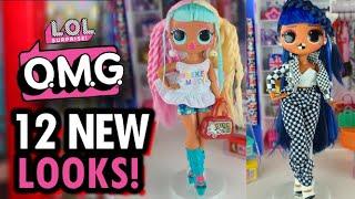 LOL Surprise OMG Fashion Dolls   OMG Doll 12 Looks! #instantryplay