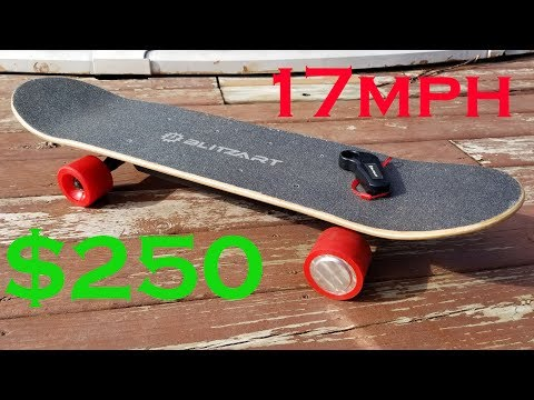 Best Cheap Electric Skateboard.  Blitzart Electric Skateboard Unboxing and Review