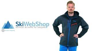 Kilpi, Axis-m, softshell jas, heren, zwart (Ski kleding heren)