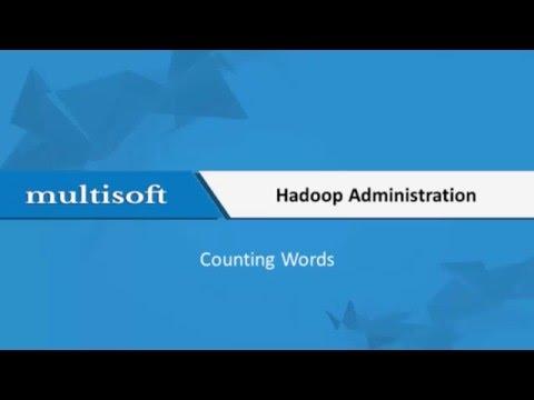 Counting Words Hadoop Admin Training