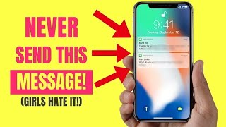 5 Texts You Should NEVER Send A Girl! | How to Text the Girl You Like