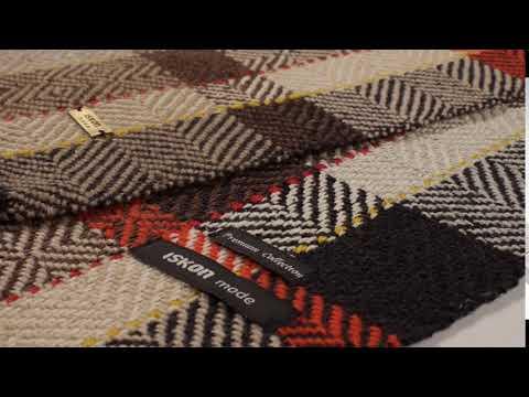 CASHMERE PLAID SCARF - Handwoven Scarf   ISKON mode