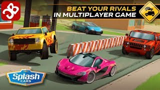 Splash Cars (By Craneballs) - iOS/Android - Gameplay Video