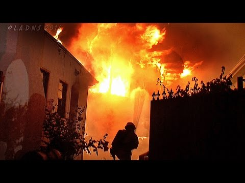 Double Fatality Hyde Park House Fire / LAFD / Part 1 of 2