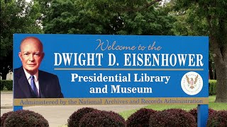 #1101 Dwight D. Eisenhower Presidential Library & Museum- Jordan The Lion Travel Vlog (8/12/19)