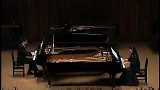 アシタカとサン2台のピアノ)もののけ姫より  Ashitaka And San