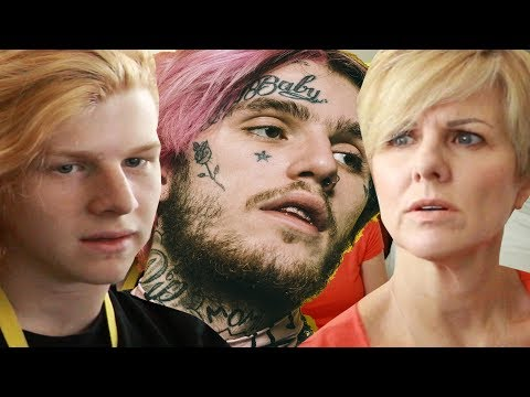 Mom reacts to lil peep - benz truck (prod. smokeasac)