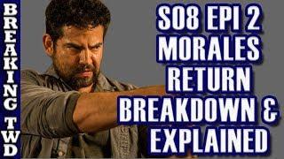 *Flashback* Morales Return Breakdown/Explained Part 1 | The Walking Dead Season 8 Episode 2