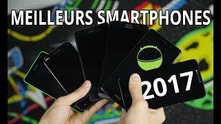 Les meilleurs smartphones Android de 2017