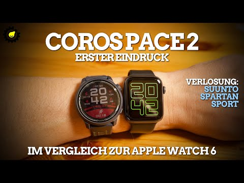 Coros Pace 2 – im Vergleich zur Apple Watch 6 | Verlosung: SUUNTO SPARTAN SPORT