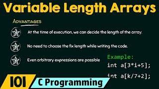 Variable Length Arrays in C