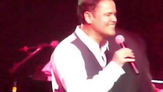 Donny Osmond performing Breeze on By (Similar to Breezin' by George Benson)