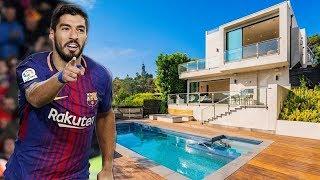 Luis Suarez Rumah Yang Luar Biasa Di Barcelona