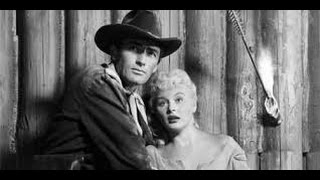❤ 1950s Gregory Peck  GREAT Classic Western War Movie TCM Black And White Old Film Full Length