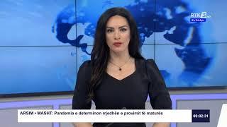 RTK3 Lajmet e orës 09:00 10.04.2020