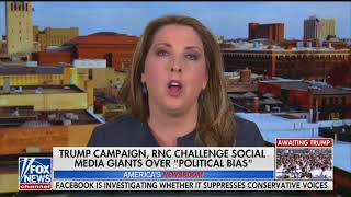 RNC chair cites hoax story to support Facebook censorship claims