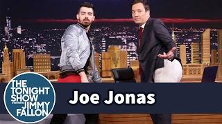 <b>Joe Jonas</b> Teaches Jimmy How To Model Guess Underwear