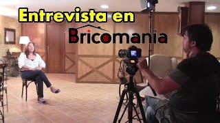 Avance de entrevista en BRICOMANIA. La TV en mi casa.