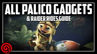 Palico Gadgets & Raider Rides Guide | MHW Iceborne