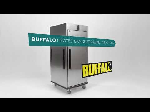 CP829 Heated Banquet Cabinet -16 x 2/1GN Product Video