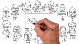 Быстрые деньги в рисованном видео. Приглашение на вебинар