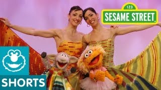 Sesame Street: Feijoo Sisters Teach Zoe to Lambarena