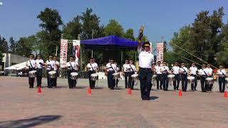 Banda de Guerra LINAJE AZTECA en copa leyenda oro 2017