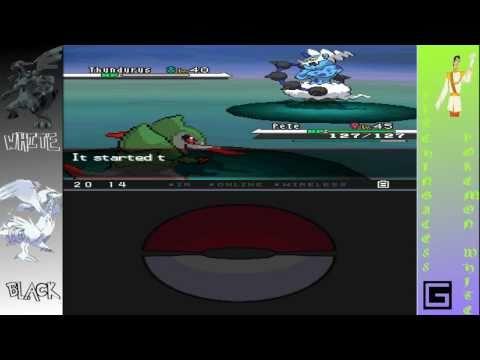 Download Pokemon White/Black [How to catch Thundurus/Tornadus] HD Mp4 3GP Video and MP3