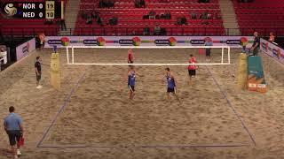 Mol.A/Sørum (NOR) vs. Blom/De Groot (NED) FIVB 4-Star The Hague 2019