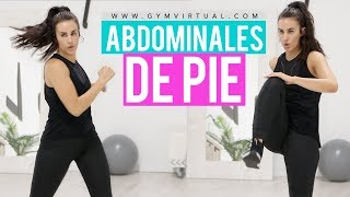 Abdominales de pie | Aplanar abdomen 20 minutos